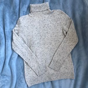 100% Cashmere Talbot Donegal Turtleneck Sweater